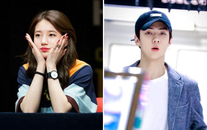 Bae Suzy Dan Sehun EXO Unggah Foto Yang Sama Di Akuarium