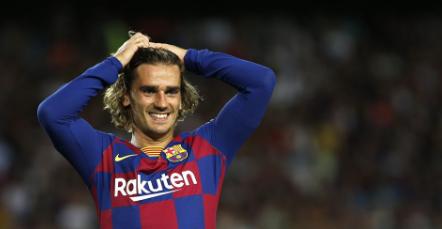 Antoine Griezmann tak Terlihat Senang di Barcelona